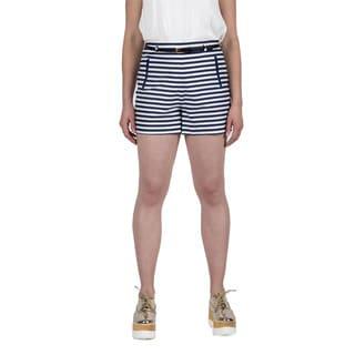 Xehar Women's Casual Striped Shorts