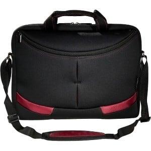 "ECO STYLE Vertigo EVER-BY16 Carrying Case (Sleeve) for 16.1"" Notebook - Black, Burgundy"