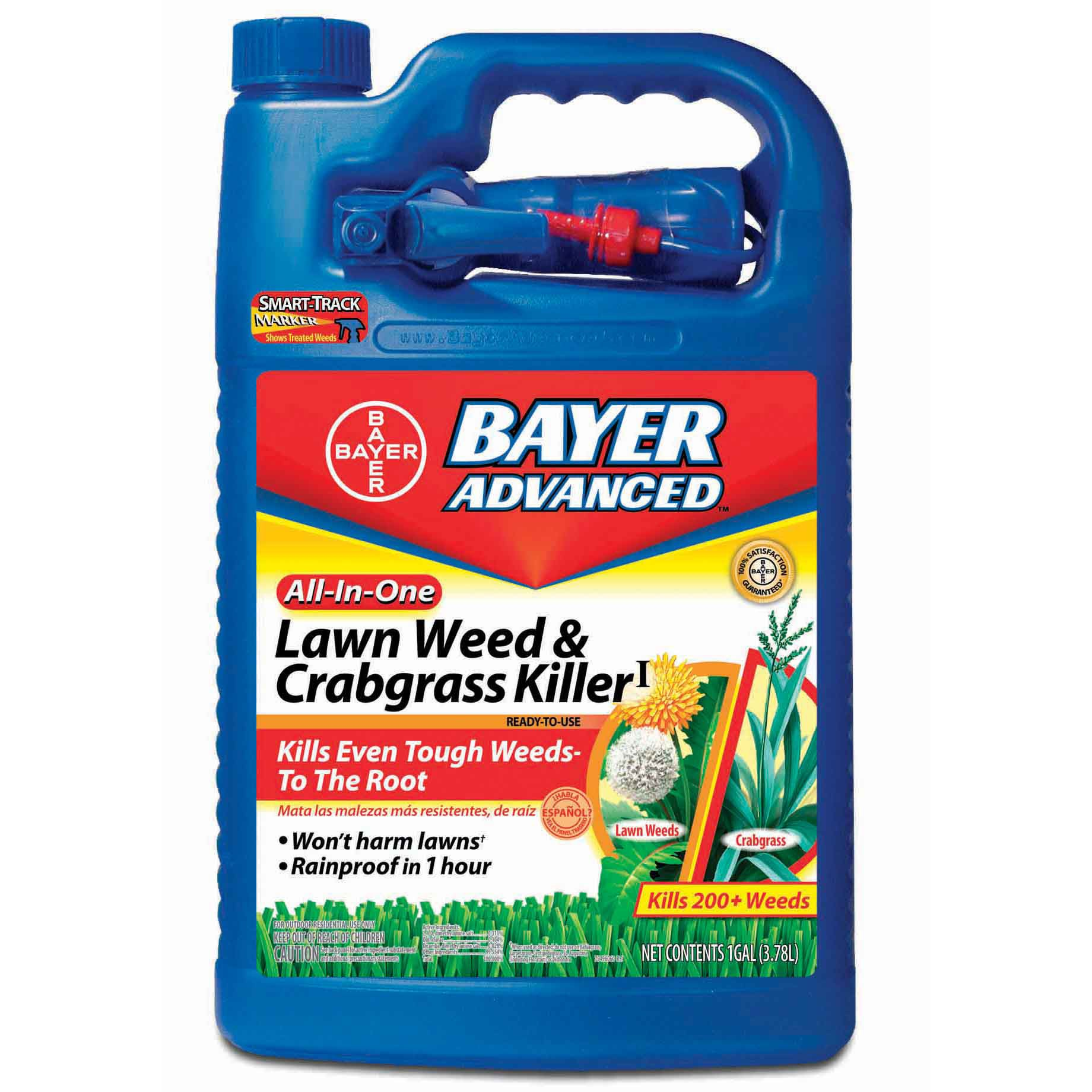Bayer Advanced All-in-One Lawn Weed and Crabgrass Killer ...