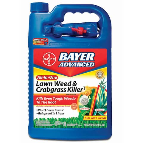 Bayer Advanced All-in-One Lawn Weed and Crabgrass Killer Ready-To-Use, 1-Gallon