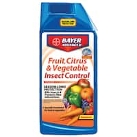 Bayer Advanced Fruit, Citrus and Vegetable Insect Control Concentrate, 32-Ounce