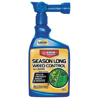 Bayer Advanced Ready-to-Spray Season Long Weed Control for Lawn, 24-Ounce
