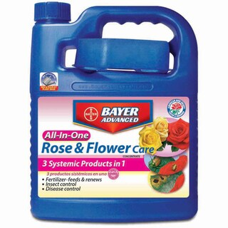 Bayer Advanced All-In-One Rose and Flower Care Concentrate, 0.5-Gallon