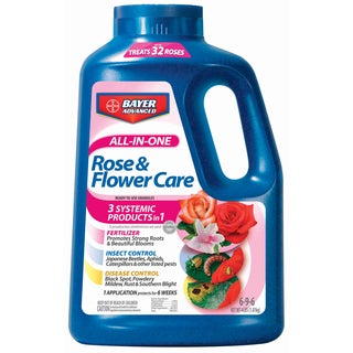 Bayer Advanced All in One Rose and Flower Care Granules, 4-Pound