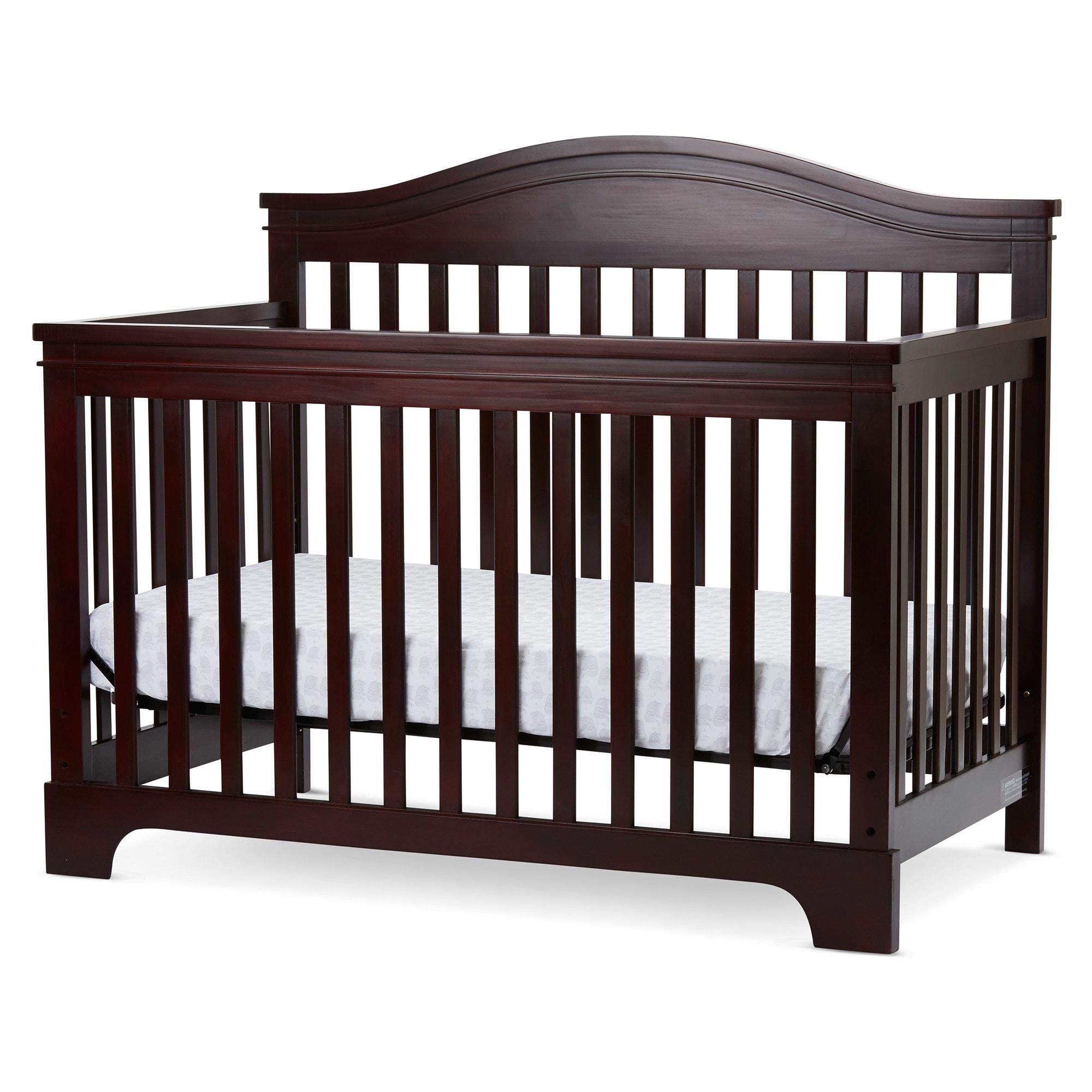s in crib sleigh grey bennington products pop children elite baby convertible cribs charcoal dream delta