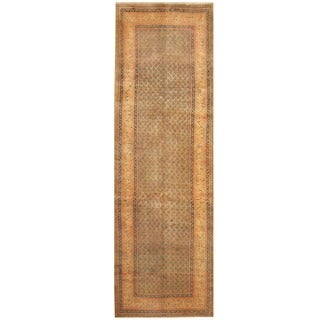 Handmade Hamadan Wool Runner (Iran) - 3'7 x 10'8