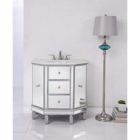 Elegant Lighting Nouveau 35 inch Single Bathroom Vanity