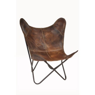 New Safari Riveted Cocoa Chair