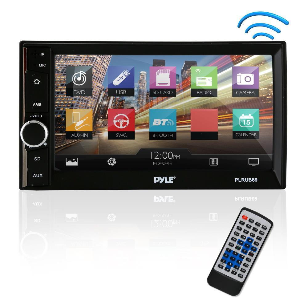 """Pyle PLRUB69 6.5"""" Touch Screen Stereo Radio Receiver with..."""
