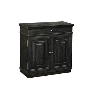 Charcoal Wood Neoclassic-door Chest