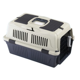 Deluxe Pet Carrier w/ storage compartment (Pack of 6)