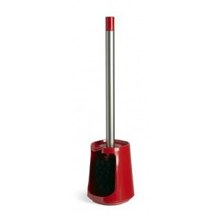 Umbra Step Melamine Red Toilet Brush w/ Removable Brush Head