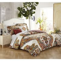 Chic Home 5-piece Hendra Cotton Reversible Comforter Set