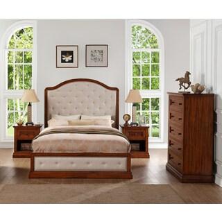 Abbyson Augusta Wood 4-piece Bedroom Set