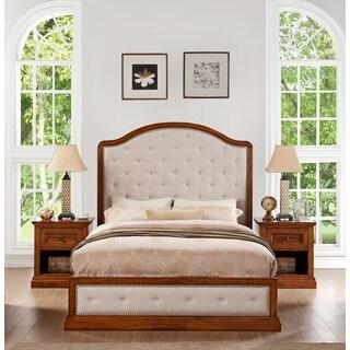 Abbyson Augusta Wood 3-piece Bedroom Set