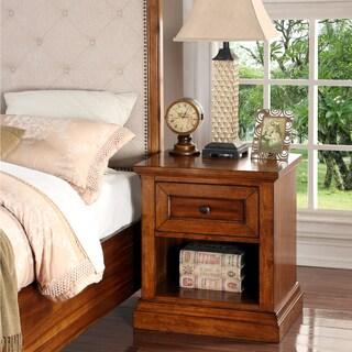 Abbyson Augusta Wood Nightstand
