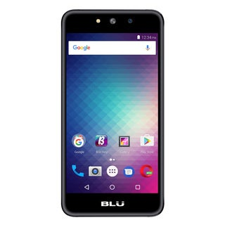 BLU Grand M G070Q Unlocked GSM Quad-Core Dual-SIM Phone - Gray (Refurbished)