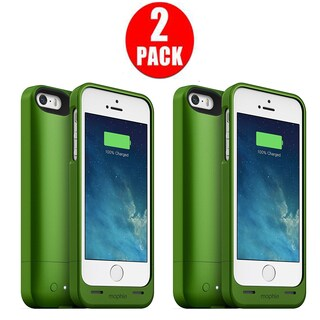 mophie Green Juice Pack Helium iPhone 5/ 5s/ SE (Pack of 2)