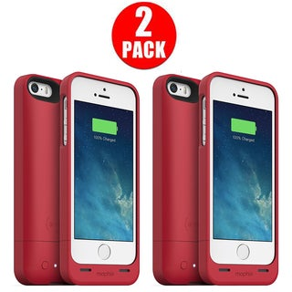 Mophie Juice Pack Snap iPhone 5/5s/SE - Red (2 Pack)