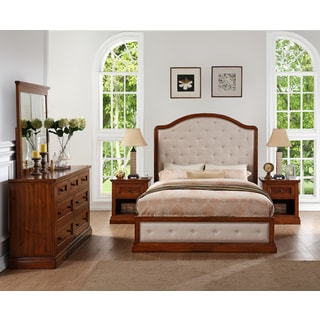 Abbyson Augusta Wood 5-piece Bedroom Set
