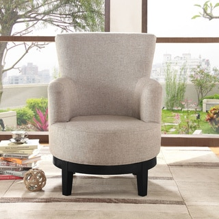 dominic collection wood base swivel chair