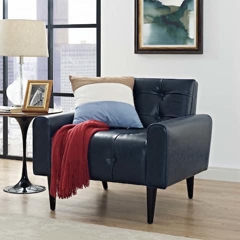 Carson Carrington Alavo Vinyl Accent Chair