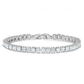Sterling Silver 2.00CT Tennis Bracelet