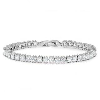 Sterling Silver 2.00CT Tennis Bracelet