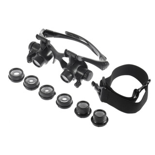 LED Jeweler Magnifing Glasses