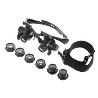 LED Jeweler Magnifing Glasses