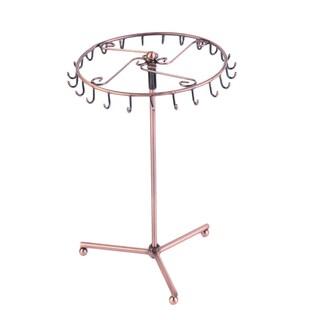 Rotating Jewelry Tree Holder Stand