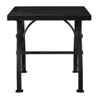 Tiburon Wood & Metal End Table