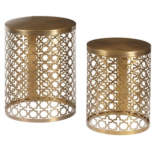 Safavieh Greta Gold Accent Table Free Shipping Today