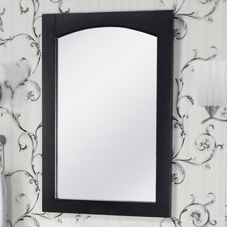 InFurniture Contemporary-style 24-inch Arched-top Frame Mirror