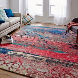 Mohawk Home Strata Eroded Area Rug (7'6x10')