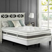 Priage King-size Pocketed Coil and Gel Memory Foam Hybrid Mattress