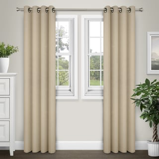 Journee Home 'Denver' 84 inch Energy Saving Blackout Curtain Panel Pair