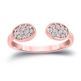 Auriya 14k Gold 1/5ct TDW Diamond Stackable Ring (H-I, I1-I2)