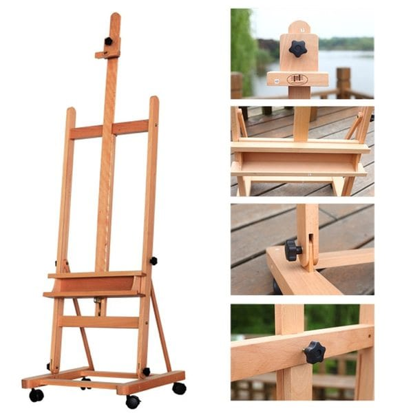 Martin Full Size Rivera French Sketch Box Roller-Style Wooden Easel