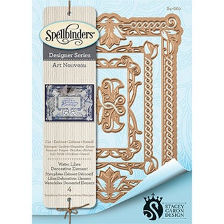 Spellbinders Nestabilities Decorative Elements Dies-Waterlilies Elements