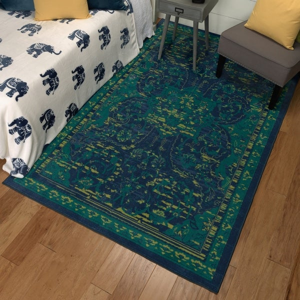 Shop Mohawk Aurora Padua Area Rug 5 X 8 On Sale