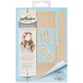 Spellbinders Shapeabilities Dies-Lattice Floral Basket