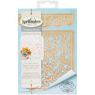Spellbinders Card Creator Card Front Die-Framed Floral