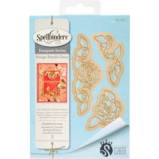 Spellbinders Shapeabilities Dies By Stacey Caron-Camellia Accents