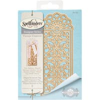 Spellbinders Shapeabilities Dies-Filigree Bookmark - Tag