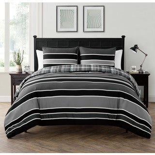 VCNY Home Baxter Reversible 3-piece Comforter Set