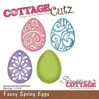 """CottageCutz Die-Fancy Spring Eggs, 1.5""""X2"""""""