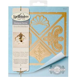 """Spellbinders Card Creator Die-Graceful 6""""X6"""" Frame Maker"""