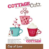 "CottageCutz Die-Cup Of Love, 1.9"" To 2.5"""