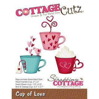 "CottageCutz Die-Cup Of Love, 1.9"" To 2.5"""